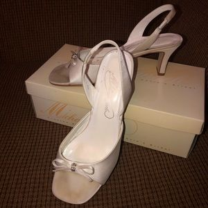 David's Bridal Michaelangelo Bridal/prom shoes